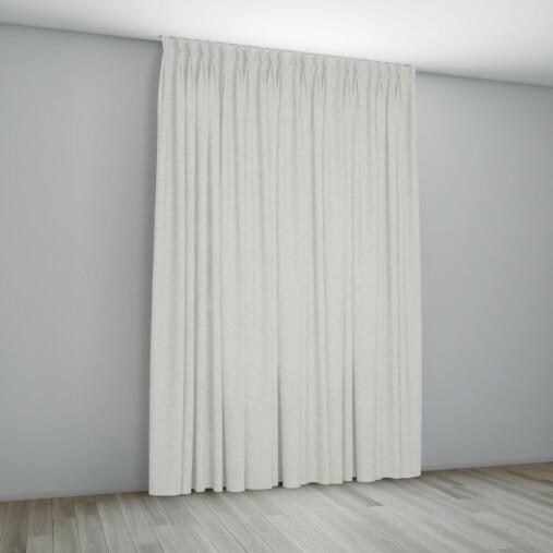 Overgordijn Florence Room - plooigordijn met vlinderplooi