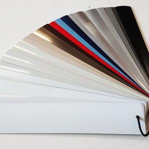 Aluminium jaloezieën kleur voorbeelden