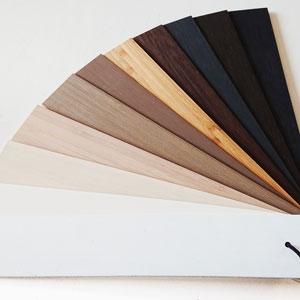 Bamboe jaloezieen kleur voorbeelden