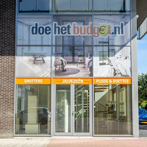 De showroom van doehetbudget.nl in Alkmaar