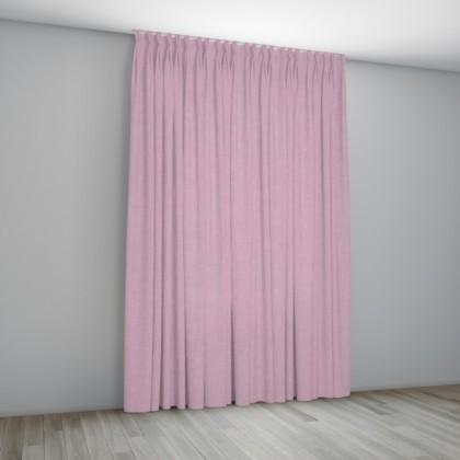 Roze gordijnen op maat