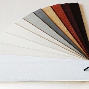 pvc jaloezieën kleur voorbeelden