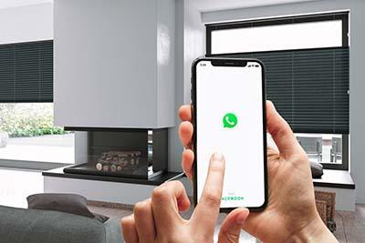 WhatsApp inmeetservice stap 2