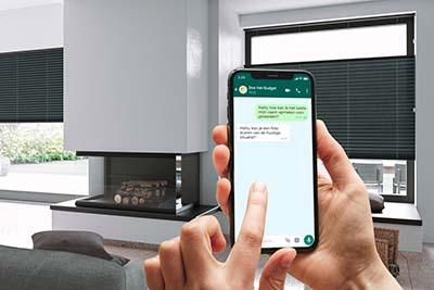 WhatsApp inmeetservice stap 3